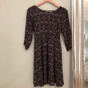3/4 Length Sleeve Dress